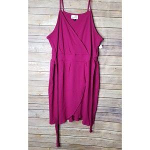 🆕 UNIVERSAL THREAD plus size faux wrap dress